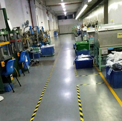 Rubber products production room
